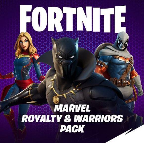 Marvel Royalty & Warriors Pack