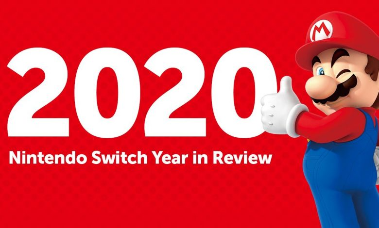What are your most played Switch games this year?  Find out with the year of Nintendo under review