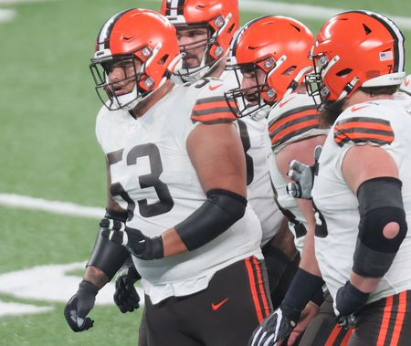 Cleveland Browns vs The New York Giants, December 20, 2020