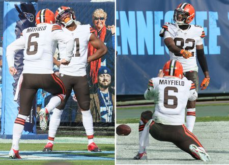 Cleveland Browns vs the Tennessee Titans, December 6, 2020