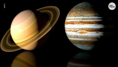Photo of Images of Saturn and Jupiter are real, taken from the Massachusetts Telescope