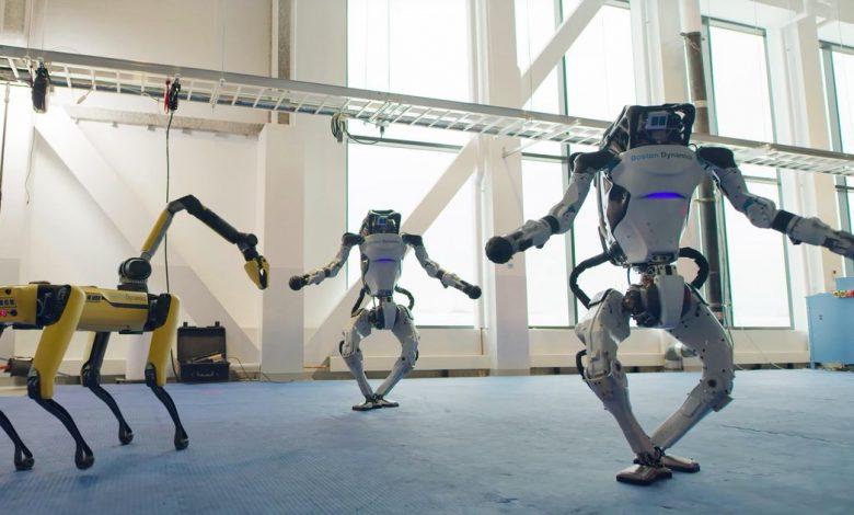 Watch Boston Dynamics robots show off impressive dance moves