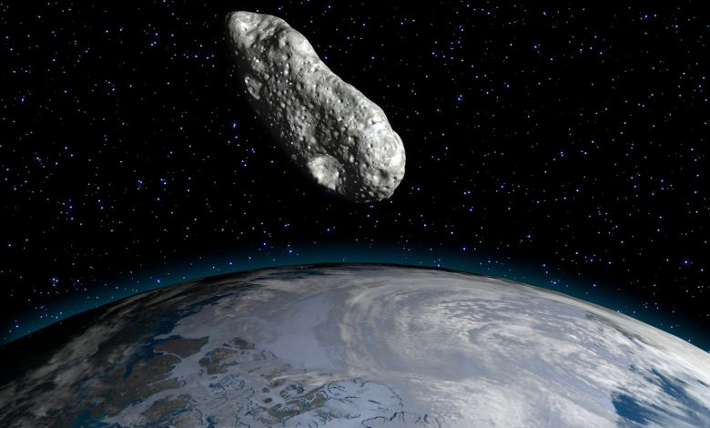 A giant asteroid passes through Earth on Christmas Day