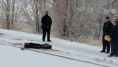 Photo of An investigation is underway after the remains of a man were found in suitcases near a driveway in Denver