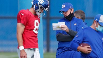 Photo of Daniel Jones and Jason Jarrett expect to return to the Giants' team