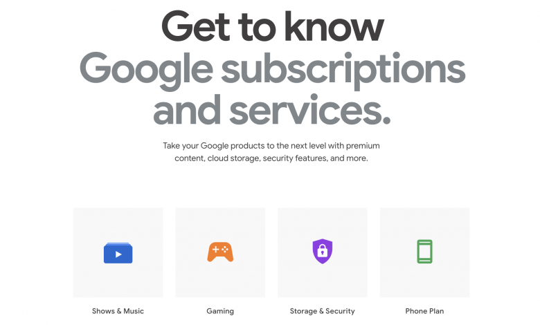 Google now pays for its subscription services on its own hardware store