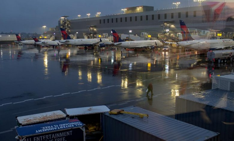 It was alleged that a Delta passenger who jumped from a moving plane with a dog was about to lose control