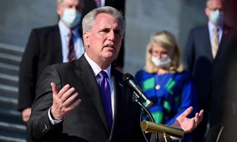 Kevin McCarthy supports the attempt by the Texas Supreme Court to overturn Biden's victory