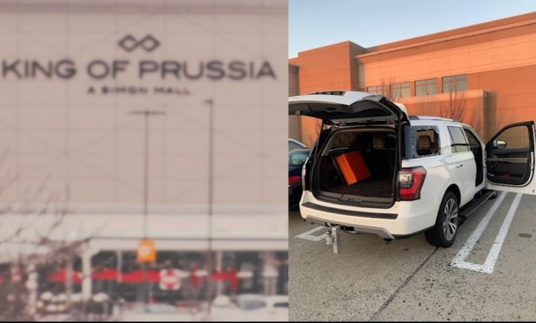 King of Prussia Mall robbery: Parking thieves steal $ 18,000 in merchandise from holiday shoppers
