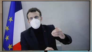 Photo of Macron is infected with the virus in a presidential resort with a fever