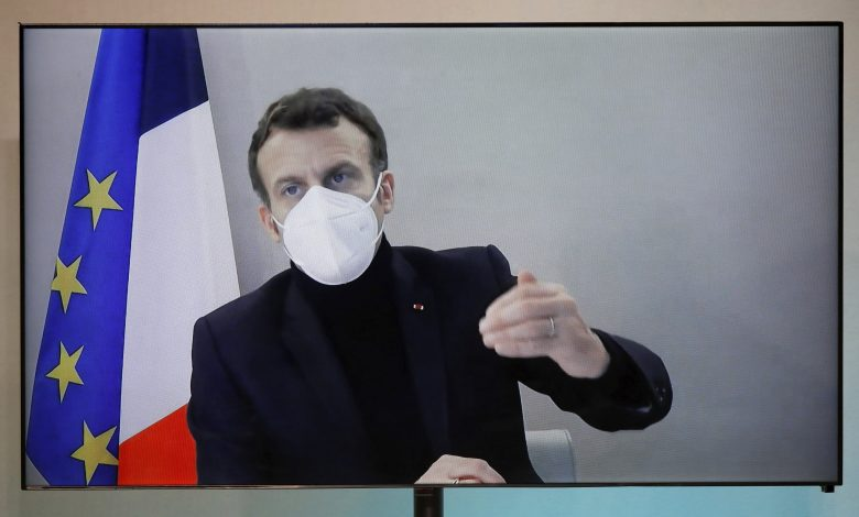 Macron is infected with the virus in a presidential resort with a fever