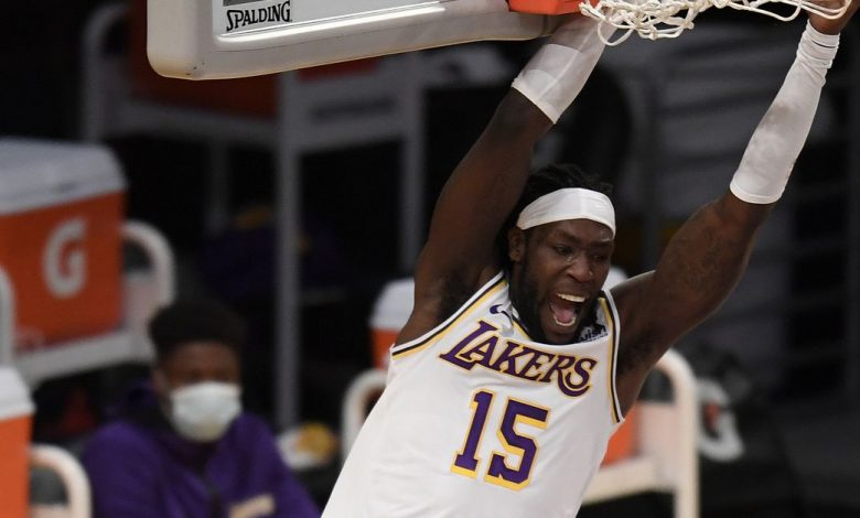 Montrezel Harrell focused on the Lakers, not the nonsense talk of the clippers