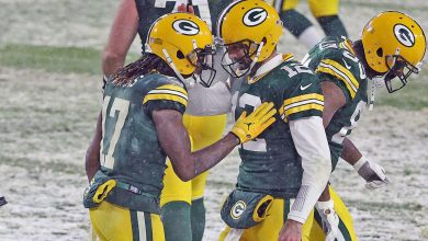 Photo of Packers points vs the Titans: Aaron Rodgers, A.J. Dillon dominate as Green Bay leads Tennessee in Snow Game