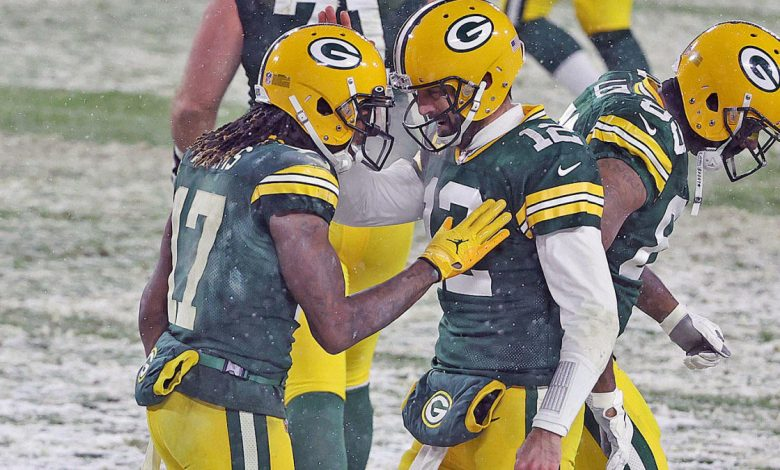 Packers points vs the Titans: Aaron Rodgers, A.J. Dillon dominate as Green Bay leads Tennessee in Snow Game