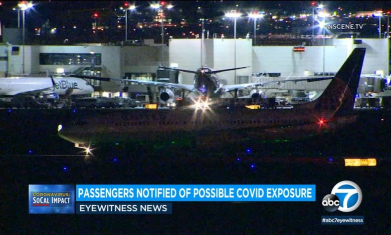 Passengers on board LAX Airlines have been notified of possible exposure to COVID-19 after the death of a passenger on December 14