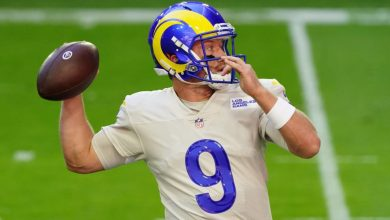 "Photo of Rams QB John Wolford was ""confident"" before his NFL debut against the Cardinals"
