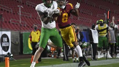 Photo of Rewind Oregon Ducks 31-24 victory over USC Trojans in a Pac-12 tournament game