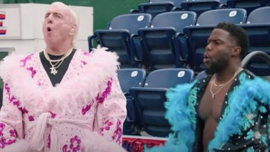 Photo of Ric Flair appears in Kevin Hart's Cold as Balls season finale