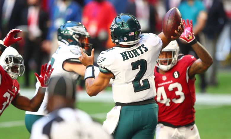 Rookie Galen Hortes continues to fuel the Philadelphia Eagles attack, albeit in a losing bid