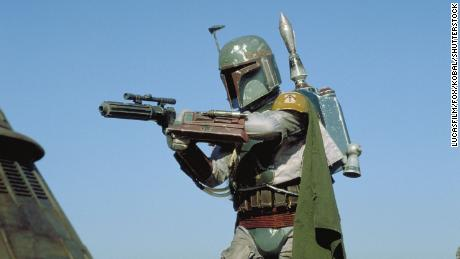 The tribute poured in after Bulloch, pictured here playing Boba Fett in & quot;  Star Wars: Episode VI - Return of the Jedi, & quot;  He passed away on Thursday.