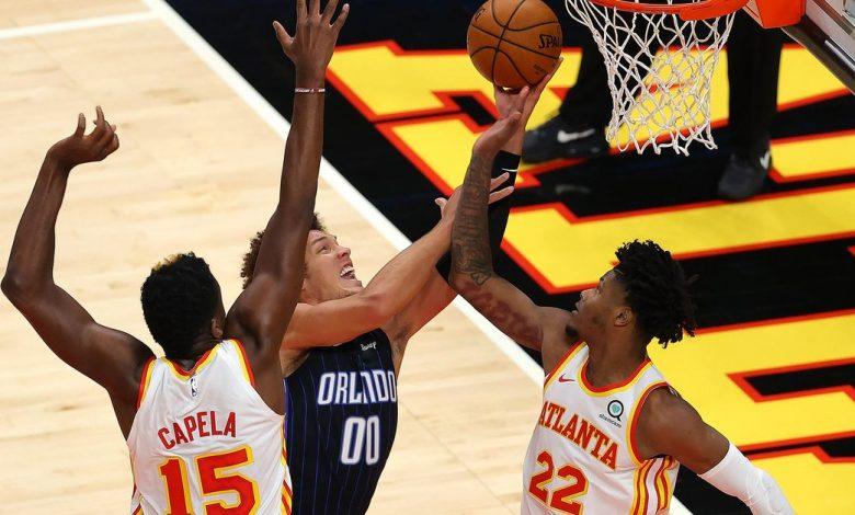 The Atlanta Hawks are back in action after a nine-month drought, falling in the opening game of the Orlando Magic