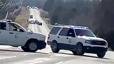 Photo of White truck playing 'sound like' an RV in a Nashville blast shuts down the Tennessee highway