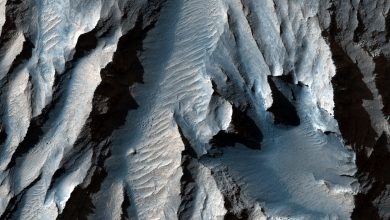 Photo of Mars Valley is larger than the Grand Canyon, and it is the largest in the solar system: NASA