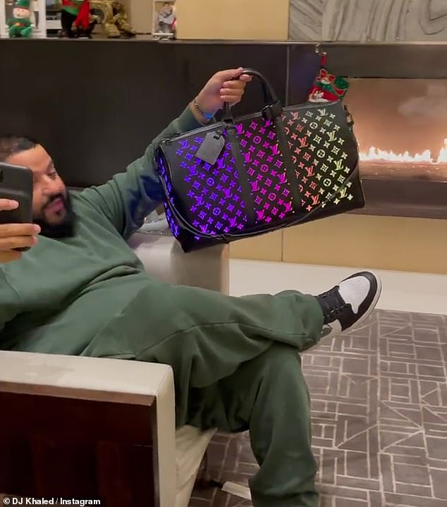 Bags lover: DJ Khaled added: