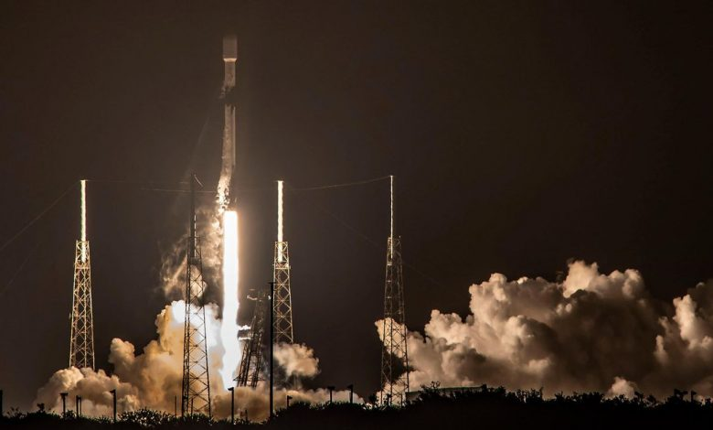 SpaceX Falcon 9's first launch date for 2021 was scheduled for Thursday night