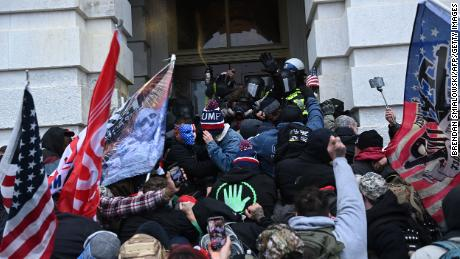 Federal law enforcement agencies are pushing for arrests and charges after Wednesday's riots in the Capitol