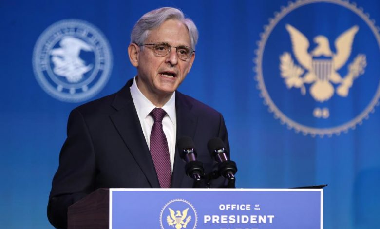 Merrick Garland: Biden's choice as attorney general is in stark contrast to Trump at the Justice Department