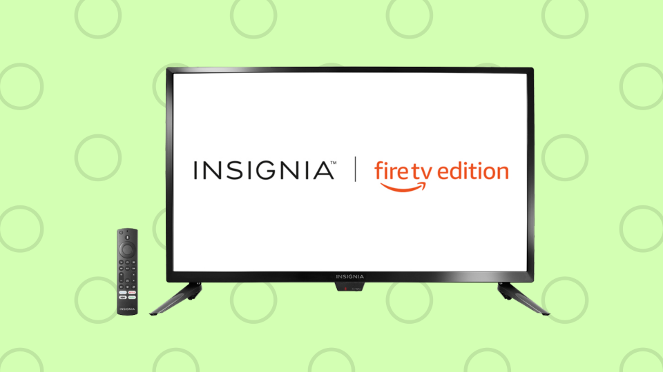 Save up to 20 percent on the Insignia 43 Inch 4K Ultra HD Smart TV - Fire TV Edition.  (Image: Amazon)