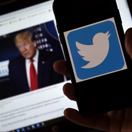 """Trump banned from social media, and """"The ban"""" Twitter worry Europe 