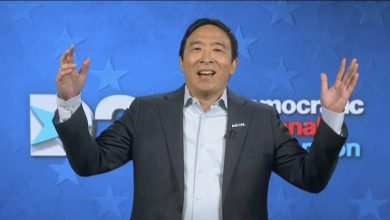 Photo of Andrew Yang, the former Democratic primary candidate for the United States, is running for mayor of New York