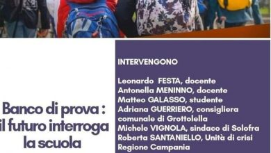 Photo of Test bench: PD from Avellino meets Camilla Sgambato to discuss the school's future – CIRIACO