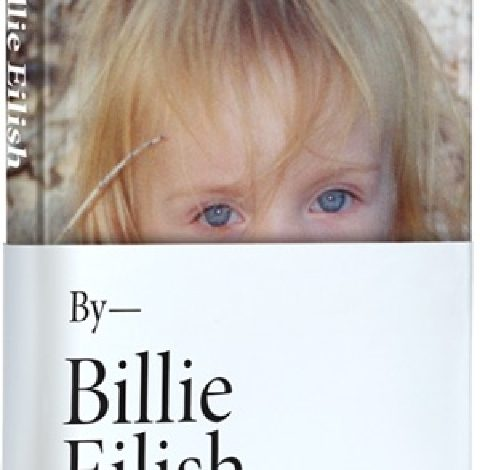 Billie Eilish, the first official book to contain unpublished images