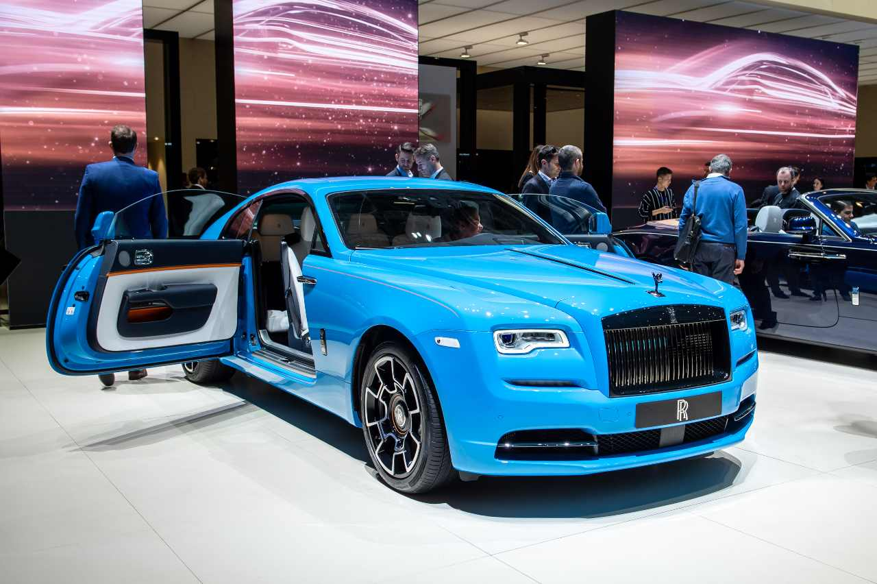 """Rolls-Royce Wraith is among the cars in """"garage"""" In Lukaku (Photo by Getty)"""