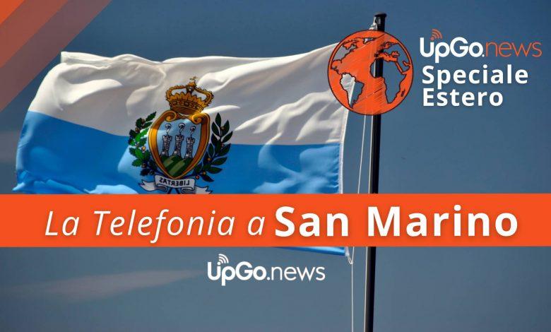 San Marino mobile phone.  TMS and roaming in San Marino
