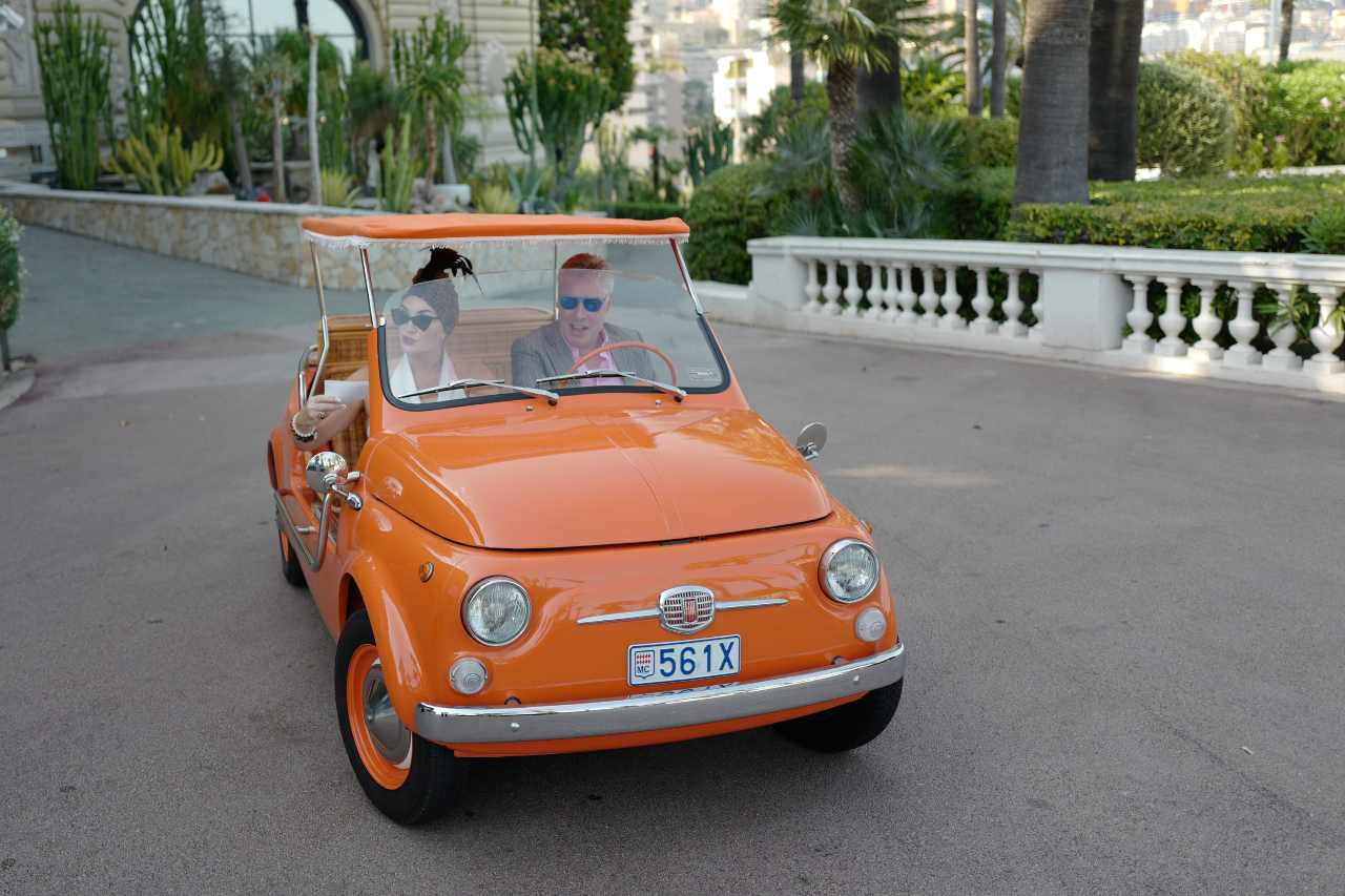 Fiat 500 Jolly, the most famous beach at the time (Getty Images)