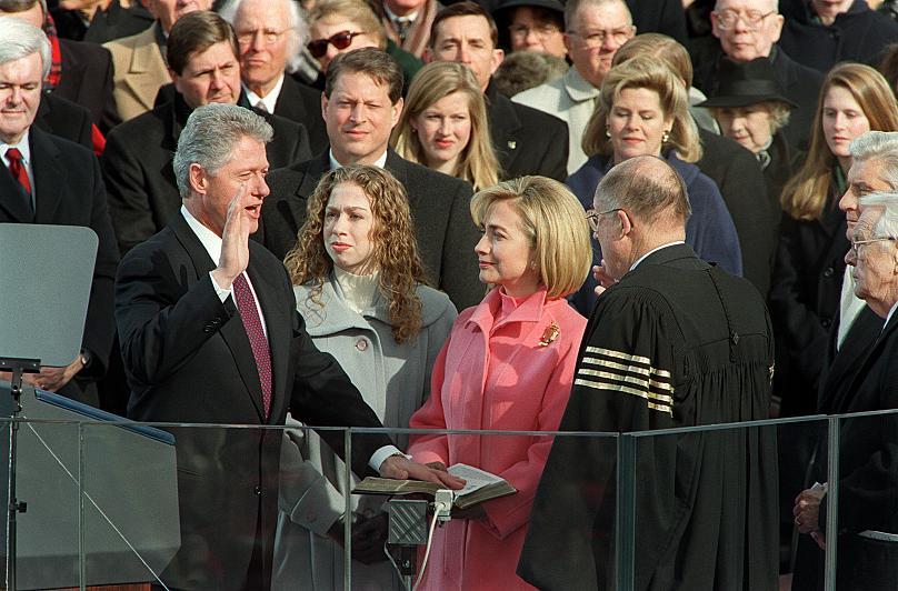 20 January 1997. Timothy A. Clary / AFP