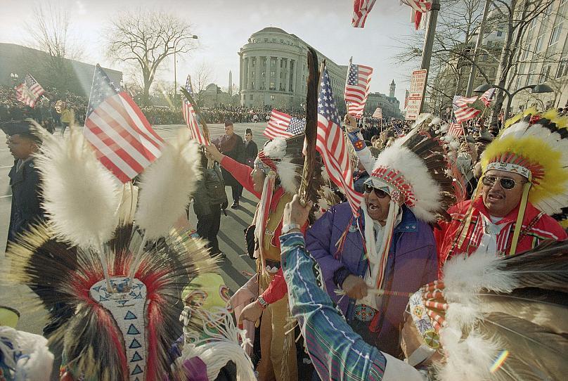 Washington, DC, USA.  Jan 20, 1993 Mark Lenihan / AP