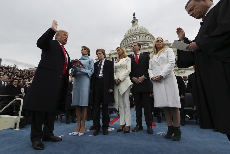 January 20, 2017. Jim Bourg / AP