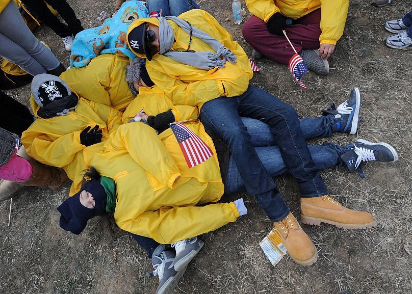 Washington, DC January 20, 2009. Mark Ralston / AFP