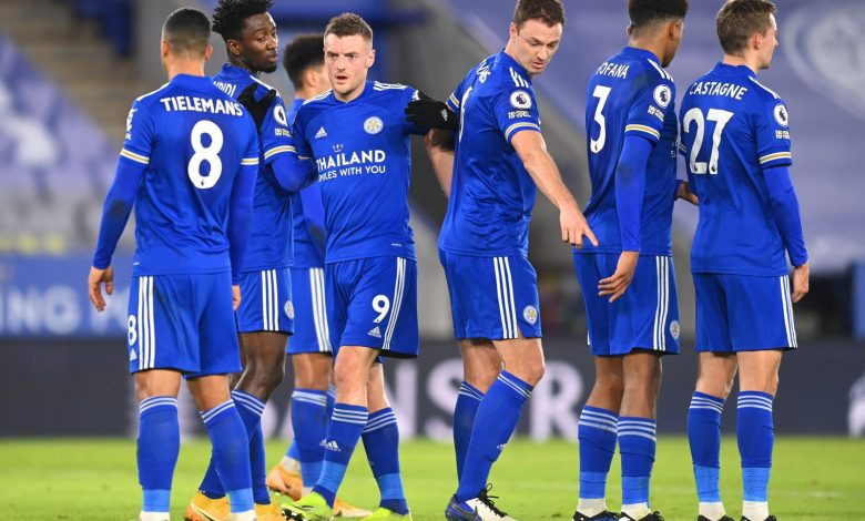 PM, Leicester beats Chelsea and leaps to the top.  Under the bench stays