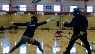 Photo of Circolo Fencing Savona has friends in the US: twinned with Atiba Fencing Club