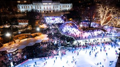 Photo of The most beautiful ice skating rinks in Europe