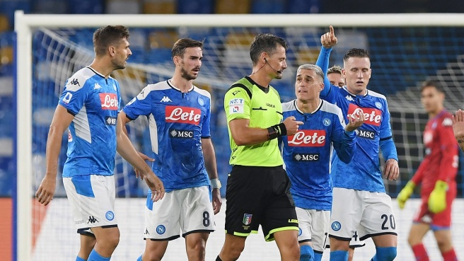 Referee nominations round 19 of the Italian Serie A