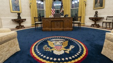 Photo of The New Oval Office of Joe Biden