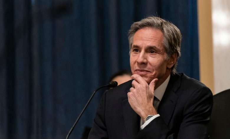 The US Senate confirmed the appointment of Anthony Blinken as Secretary of State