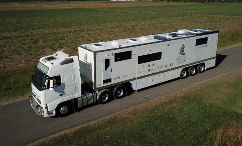 Australia's largest mobile wildlife hospital is Italpress News